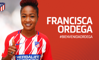 Super Falcons forward, Ordega, signs for Atletico Madrid