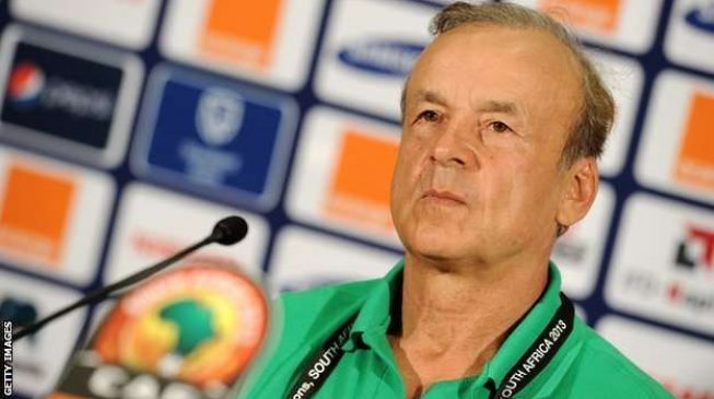At last NFF, Rohr sign new contract