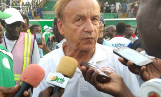 Rohr: Eagles have to beat Libya, new coach changes nothing