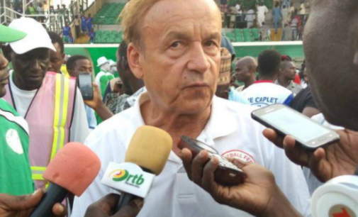 Rohr to Eagles: You can win 2021 AFCON… but stay humble