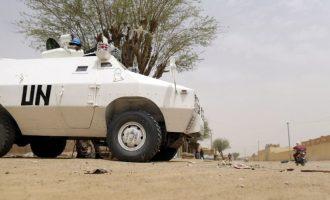 Blast kills three UN peacekeepers in Mali