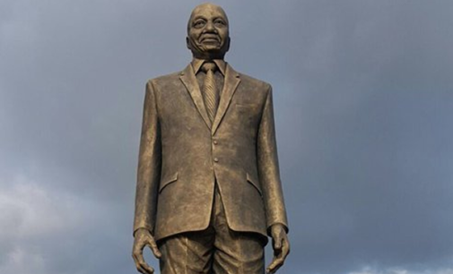 Outrage over Zuma's statue erected by Okorocha