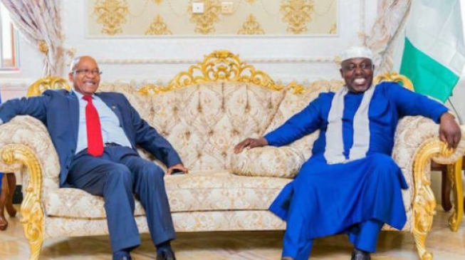 Statues of corruption: Overheard phone conversation between Rochas Okorocha and Jacob Zuma