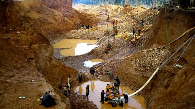 Some governors supporting illegal mining, says minister