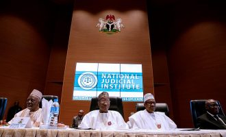 'I'm not out to intimidate you' — Buhari speaks on arrest of judges