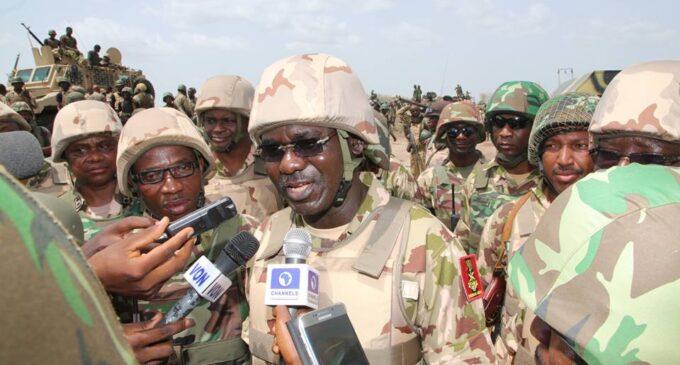Military will break Boko Haram/ISIS alliance, says Buratai