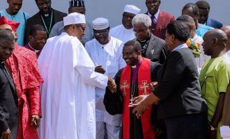 Buhari hosts CAN leaders in Aso Rock