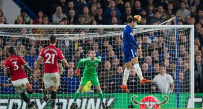 Moses missing through injury as Chelsea overcome Mourinho's men