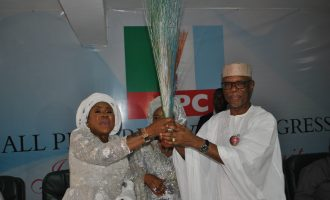 Maryam Ali, wife of ex-PDP chairman, joins APC
