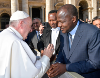 Pope well informed about happenings in Nigeria, says Dogara