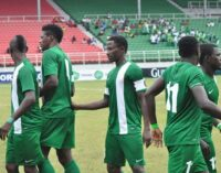 Eagles bask in victory over Equatorial Guinea, target CHAN trophy