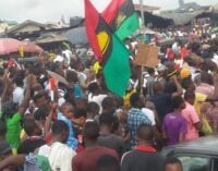 Many feared dead as police, IPOB clash in Enugu