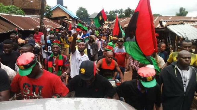 IPOB asks Buhari to stay away from south-east