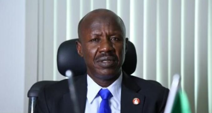 Magu suspended as acting EFCC chairman