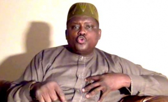 'I'll give you documents that can fetch over N3trn' — Maina speaks to Buhari from hiding