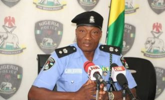 Police spokesman says Benue gov is a 'drowning man'