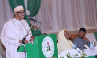 VIDEO: Never again will public funds be diverted, says Buhari