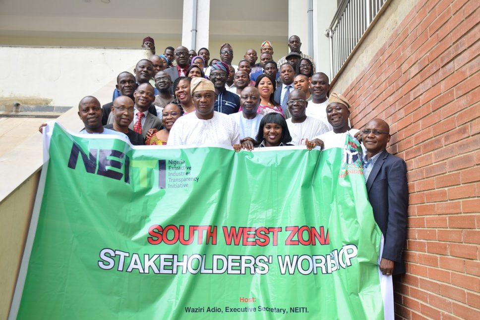 Images from NEITI's stakeholders' workshop in Abeokuta