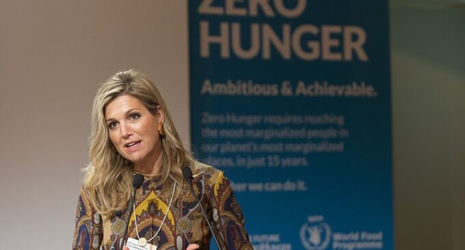 We're ready to help Nigeria achieve financial inclusion, says Netherlands queen