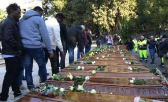 FG kicks over burial of migrants, demands explanations from Italy