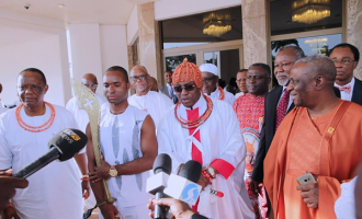 'Godfatherism must end' — oba of Benin speaks on Edo election