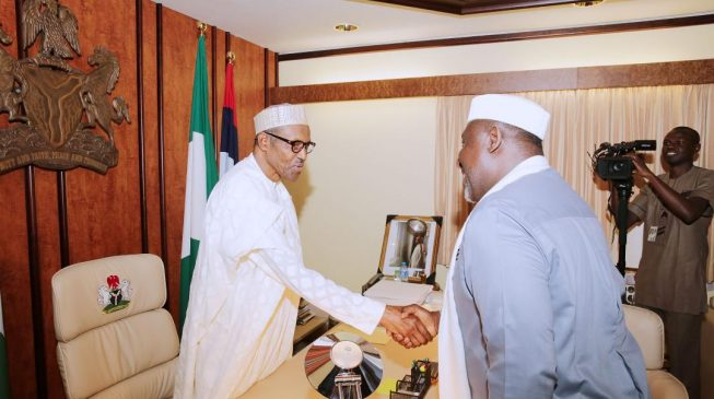 Okorocha: Buhari a man of God sent to save Nigeria