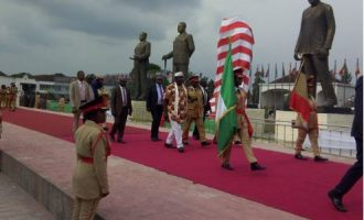 Okorocha 'ready to be probed' over Zuma, Johnson-Sirleaf statues