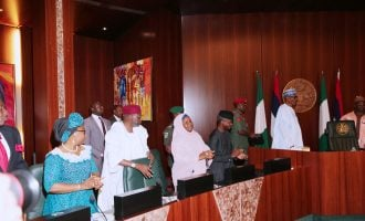 FEC meeting cancelled as Buhari hosts service chiefs