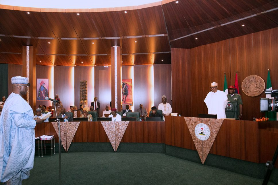New SGF takes oath of office