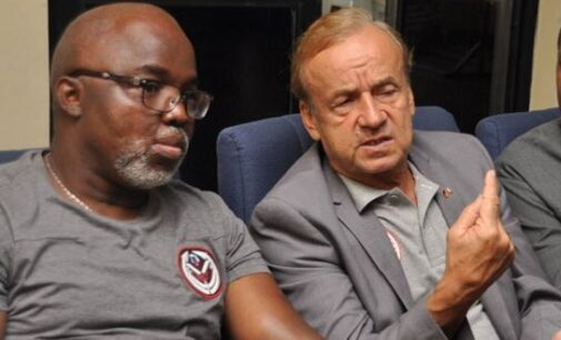 Pinnick: Why Rohr is allowed to work from abroad