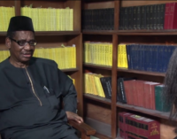 Maina's request to meet Buhari is an insult to Nigeria, says Sagay