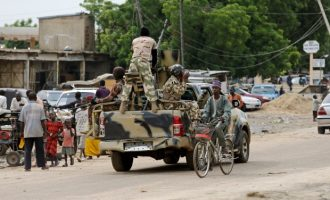 Army 'reunites' rescued children with parents in Borno