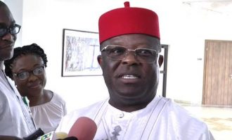 Umahi warns traders: Observe IPOB sit-at-home order and lose your shops
