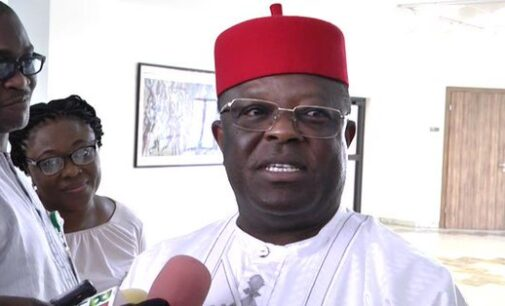 Umahi asks FG to grant amnesty to treasury looters