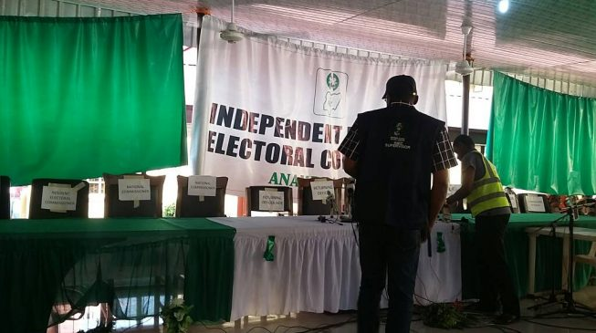 Anambra poll: 'INEC officials bribed in presence of security officials'