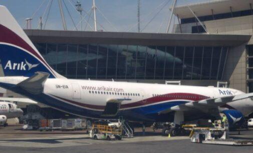 Arik Air resumes flight operations after unions' crisis