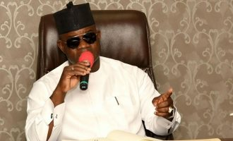 'Looters angry because they can no longer pay tithe' — Yahaya Bello taunts Catholic bishops