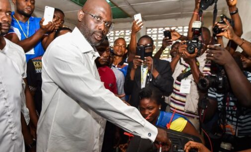 Liberian rerun: Counting underway but Weah says he's optimistic of victory
