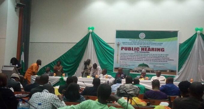 NGO bill gets zero support at public hearing