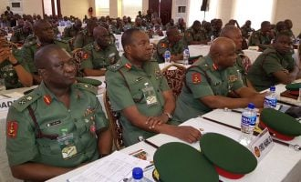 Buhari inaugurates first set of Nigerian army pilots