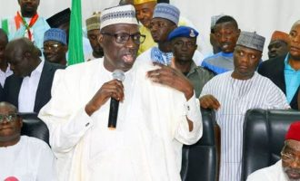 Don't postpone 2019 elections, Makarfi warns INEC