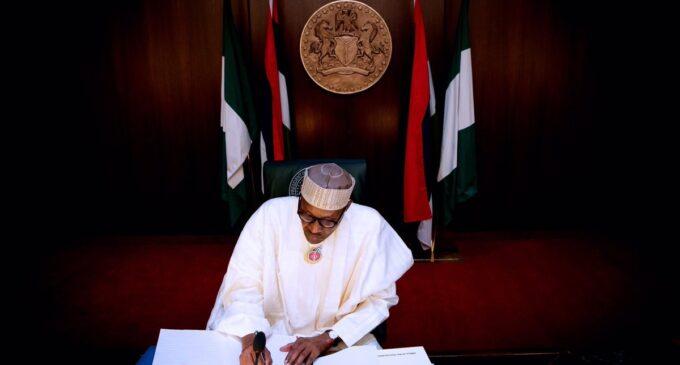 'Anti-torture, compulsory treatment of gunshot victims' — six bills Buhari signed into law