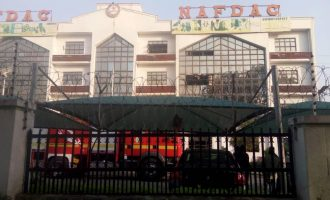 Fire outbreak at NAFDAC headquarters