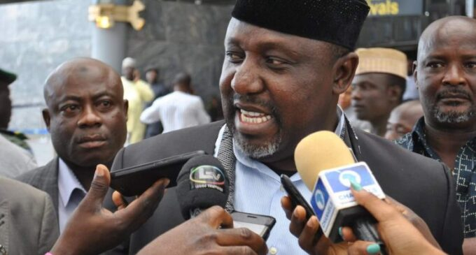 Okorocha inaugurates project in Rivers, says APC, PDP should work together