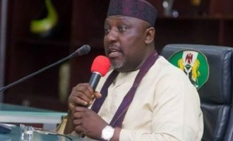 Okorocha denied accreditation, leaves national assembly