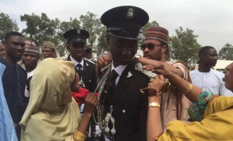 Sanusi's first son joins police