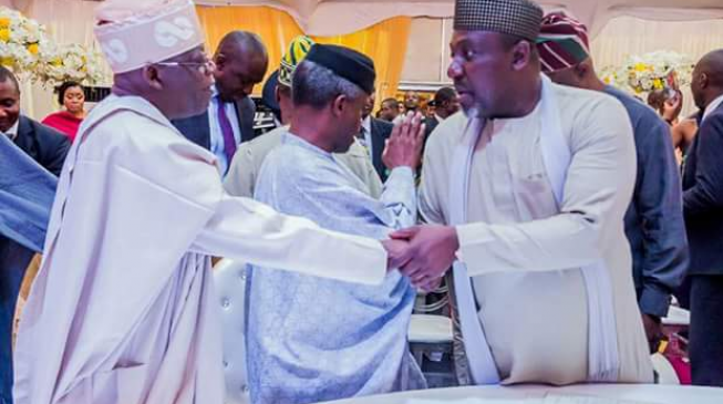 Automatic ticket: We must NOT go the way of PDP, Tinubu replies Okorocha