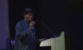 Jonathan: APC's propaganda tore our economy to shreds, so we slipped into recession