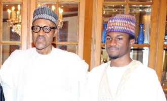 Nigerians stood by us, says Buhari as son leaves hospital