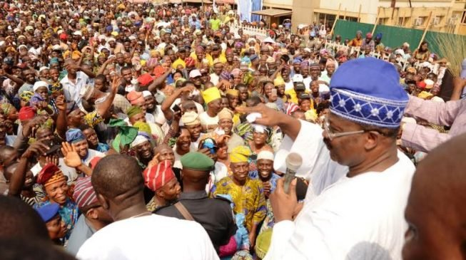 Ajimobi absent as APC flags off Buhari's campaign in Ibadan